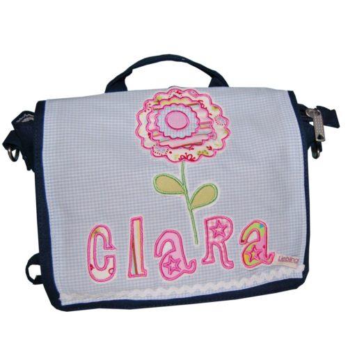 Kindergartentasche mit Namen und Blume Lieblingsstücke