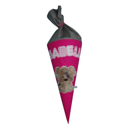 Geschwistertüte Hund Schultüte mit Hund und Namen