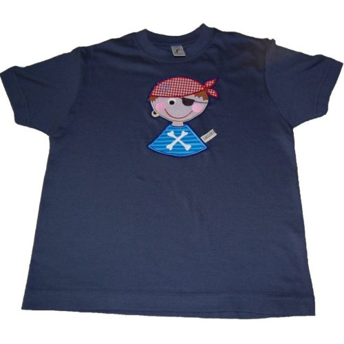 Lieblingsstücke T-Shirt Pirat in blau